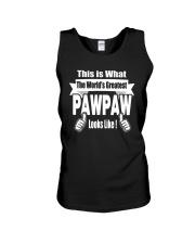 The world's Greatest Pawpaw Unisex Tank thumbnail