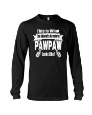The world's Greatest Pawpaw Long Sleeve Tee thumbnail