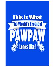 The world's Greatest Pawpaw 16x24 Poster thumbnail