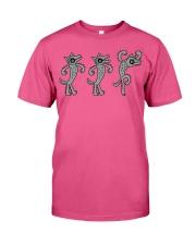 Three Wolves Vs Goat Goat Shirt Farmer Shirt Goat  Premium Fit Mens Tee thumbnail
