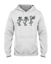 Three Wolves Vs Goat Goat Shirt Farmer Shirt Goat  Hooded Sweatshirt thumbnail