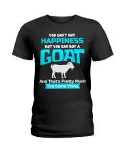 You Cant Buy Happiness But You Can Buy A Goat Goat Ladies T-Shirt thumbnail