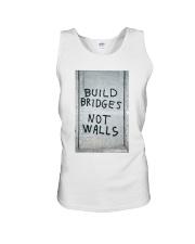 Build Bridges - Not Walls Unisex Tank thumbnail