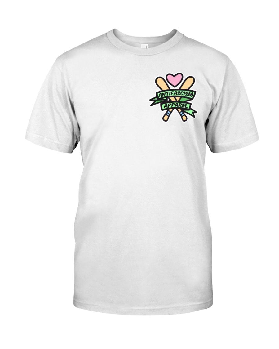 Antifascism Apparel - Bats 'n' Banners Classic T-Shirt