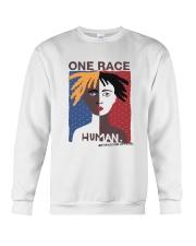 One Race - Human Crewneck Sweatshirt thumbnail