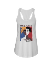 One Race - Human Ladies Flowy Tank thumbnail