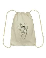 Frauenrechte statt rechte Frauen - Frida Kahlo Drawstring Bag thumbnail