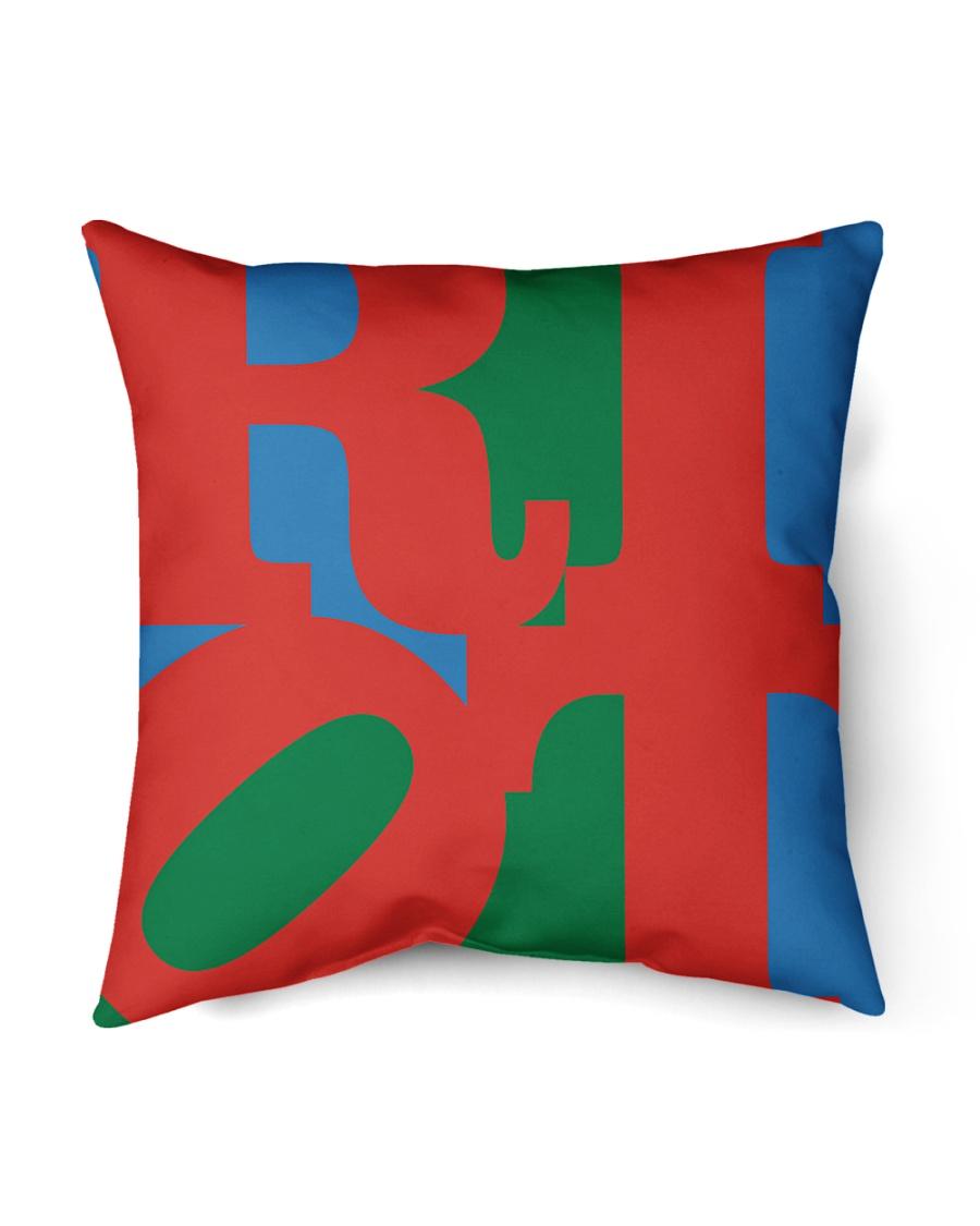 "Love Riot - Riot Series Indoor Pillow - 18"" x 18"""