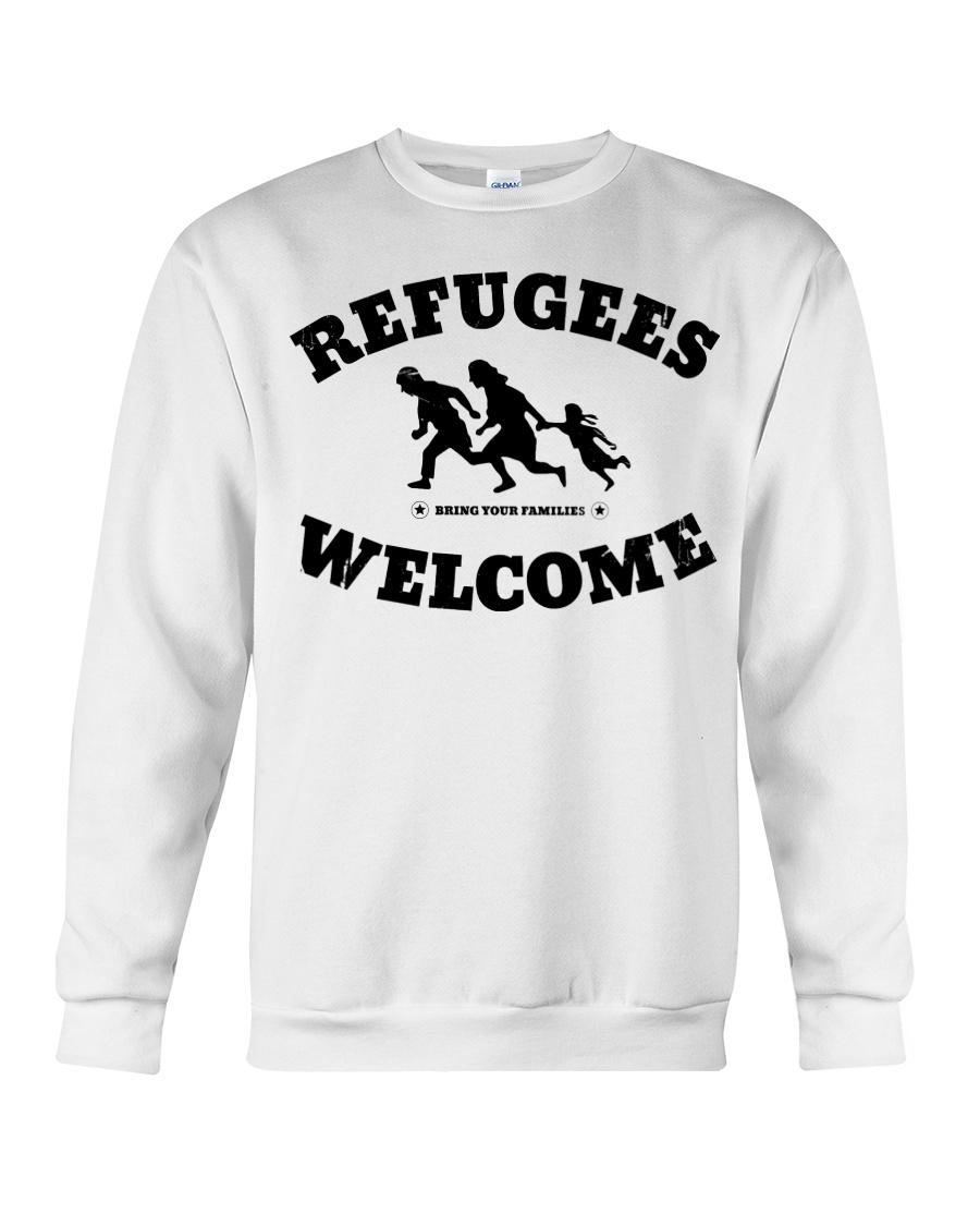 Refugees Welcome Crewneck Sweatshirt