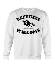 Refugees Welcome Crewneck Sweatshirt front
