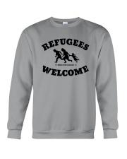 Refugees Welcome Crewneck Sweatshirt tile
