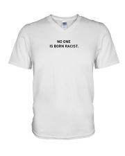 No One Is Born Racist V-Neck T-Shirt thumbnail