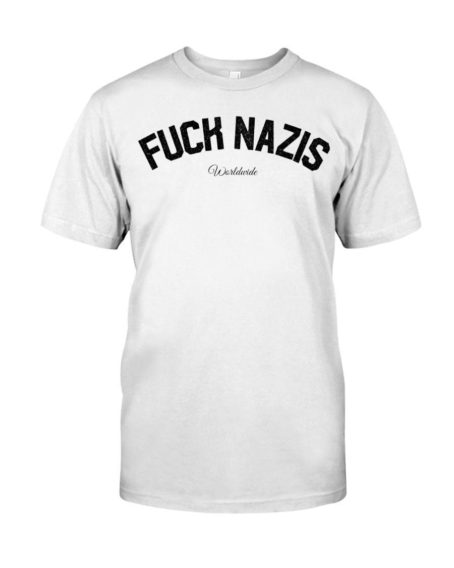 FUCK NAZIS - Worldwide Classic T-Shirt