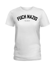 FUCK NAZIS - Worldwide Ladies T-Shirt thumbnail