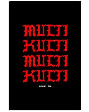 Multi Kulti 24x36 Poster front