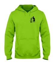 Trash Hooded Sweatshirt front