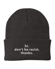 don't be racist Knit Beanie thumbnail