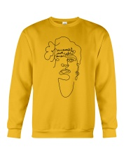 Frauenrechte statt rechte Frauen - Frida Kahlo Crewneck Sweatshirt front
