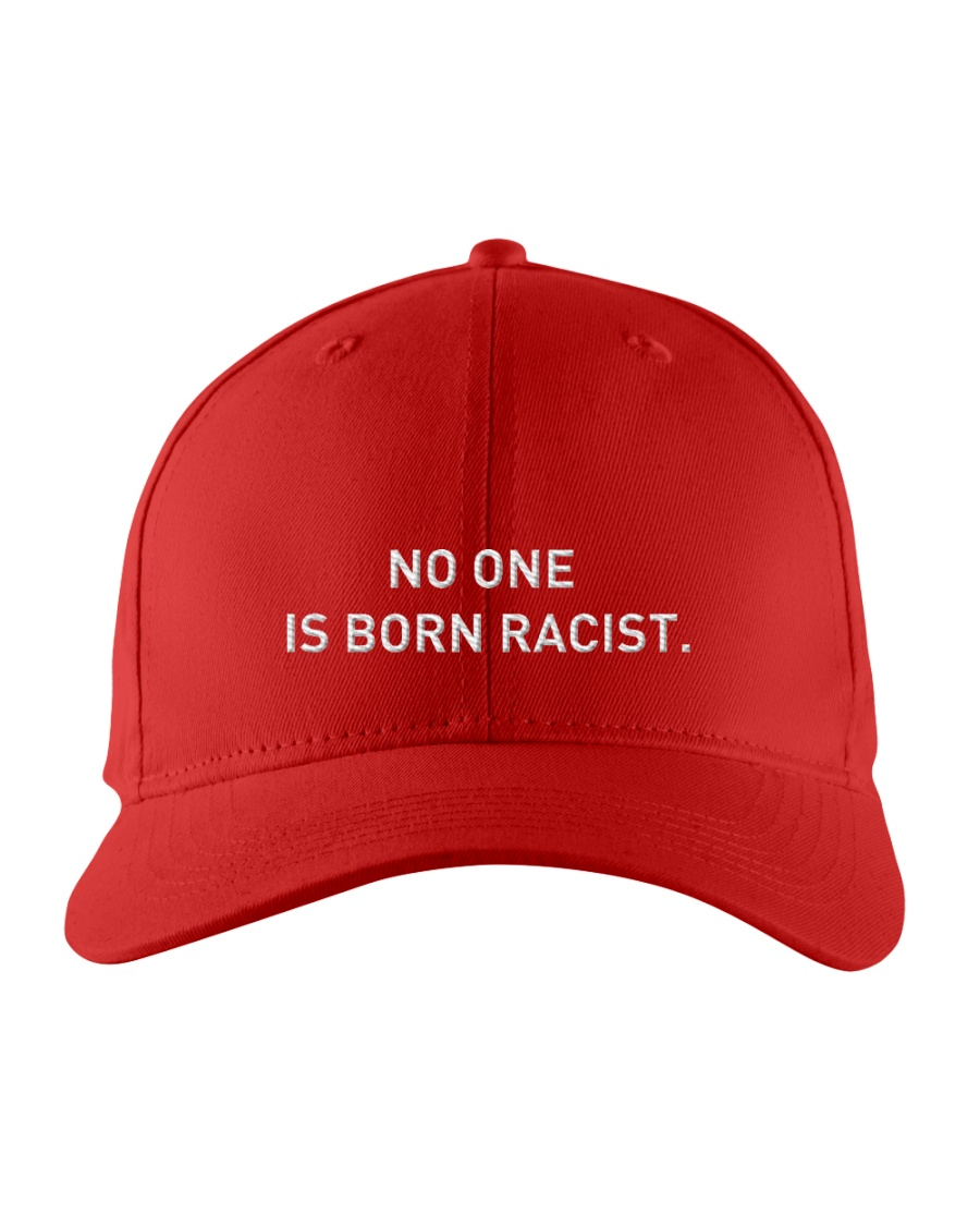 NO ONE IS BORN RACIST Embroidered Hat
