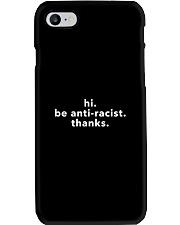be anti-racist Phone Case tile
