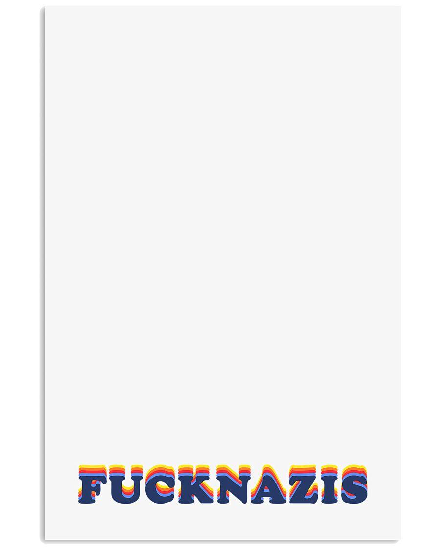 FUCK NAZIS - Retro 1 24x36 Poster