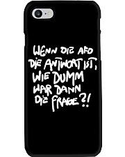 Dumme Frage Phone Case thumbnail