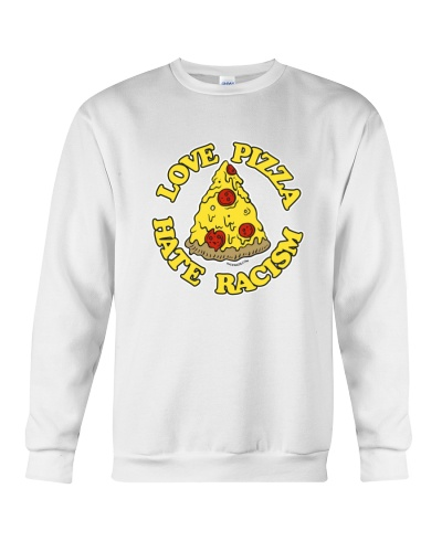 Love Pizza - Hate Racism