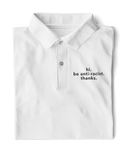 be anti-racist - Black Print Classic Polo thumbnail