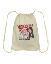 FUCK NAZIS by Insulyna  Drawstring Bag thumbnail