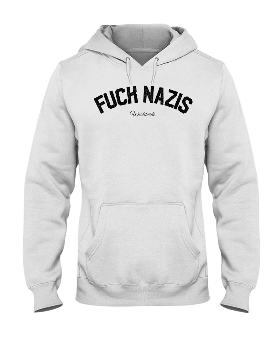 FUCK NAZIS - Worldwide Hooded Sweatshirt