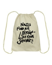 Eher Scheisse Drawstring Bag tile