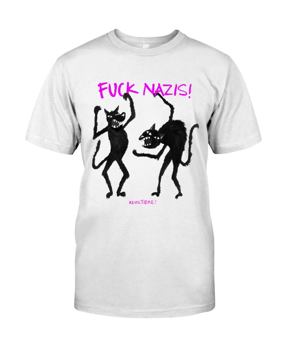 FUCK NAZIS Revoltiere by Bianca Blume Classic T-Shirt