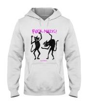 FUCK NAZIS Revoltiere by Bianca Blume Hooded Sweatshirt thumbnail