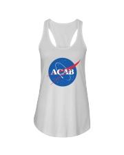 ACAB - Space Division Ladies Flowy Tank thumbnail