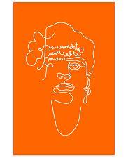 Frauenrechte statt rechte Frauen - Frida Kahlo 16x24 Poster front