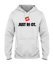 JUST RIOT - Riot Series Hooded Sweatshirt front