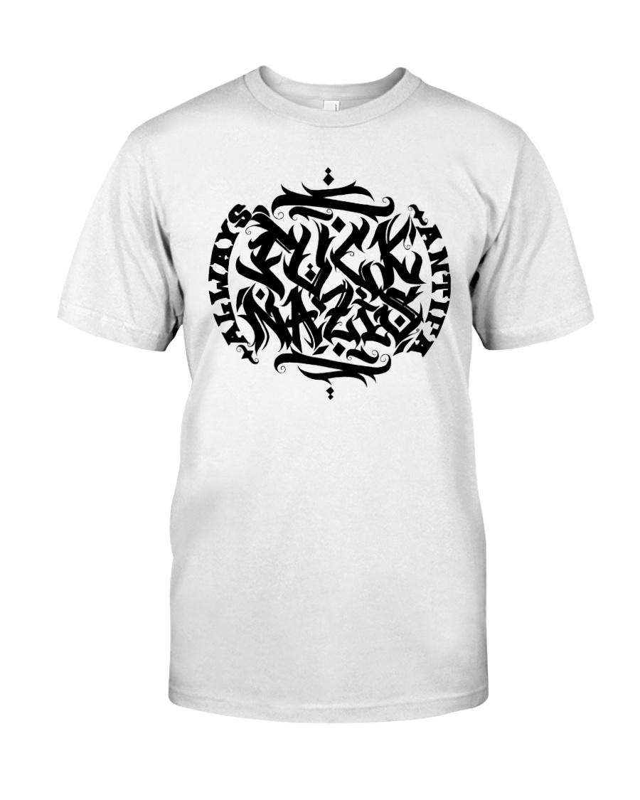 FUCK NAZIS by Roja 161 Classic T-Shirt