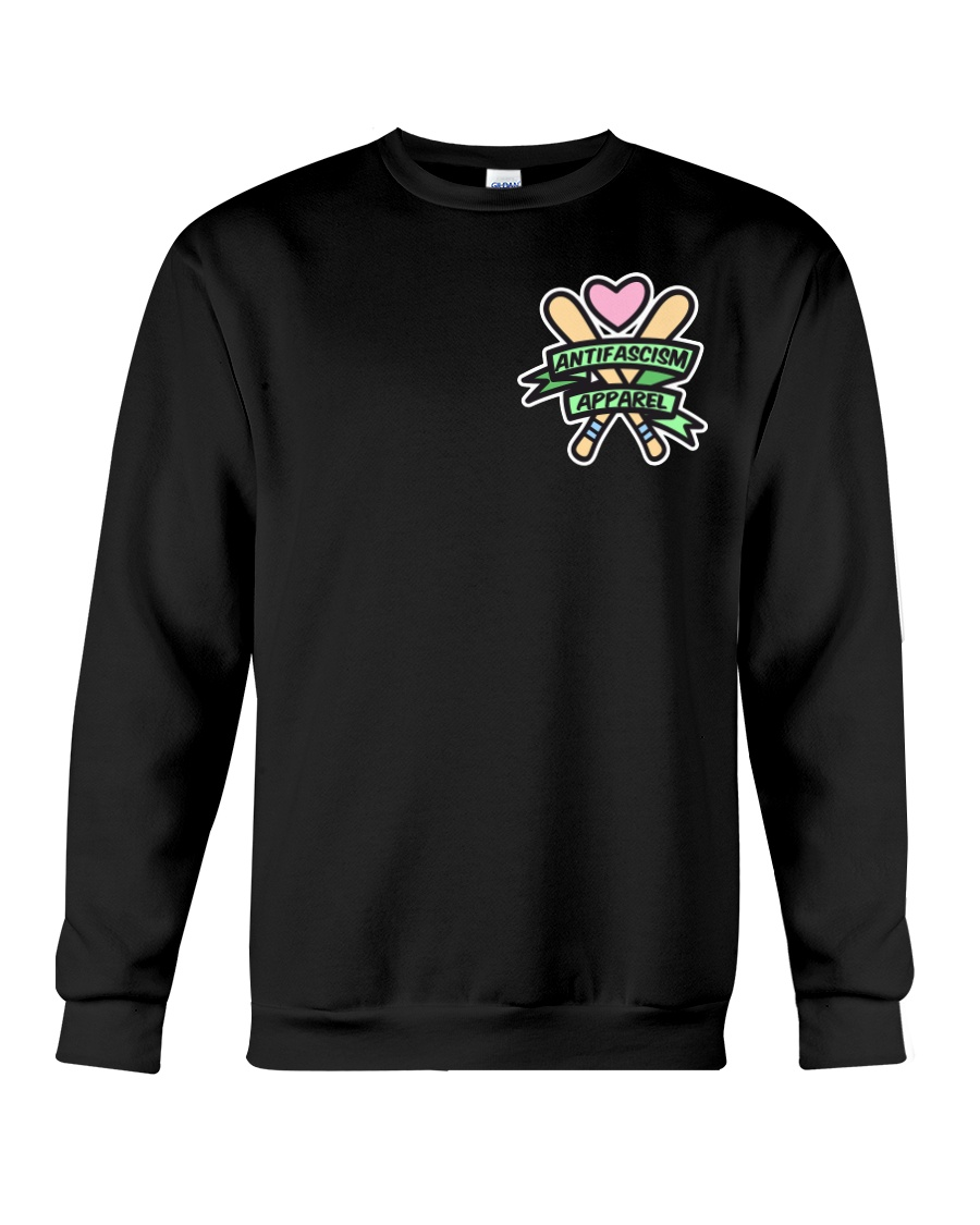 Antifascism Apparel - Bats 'n' Banners Crewneck Sweatshirt