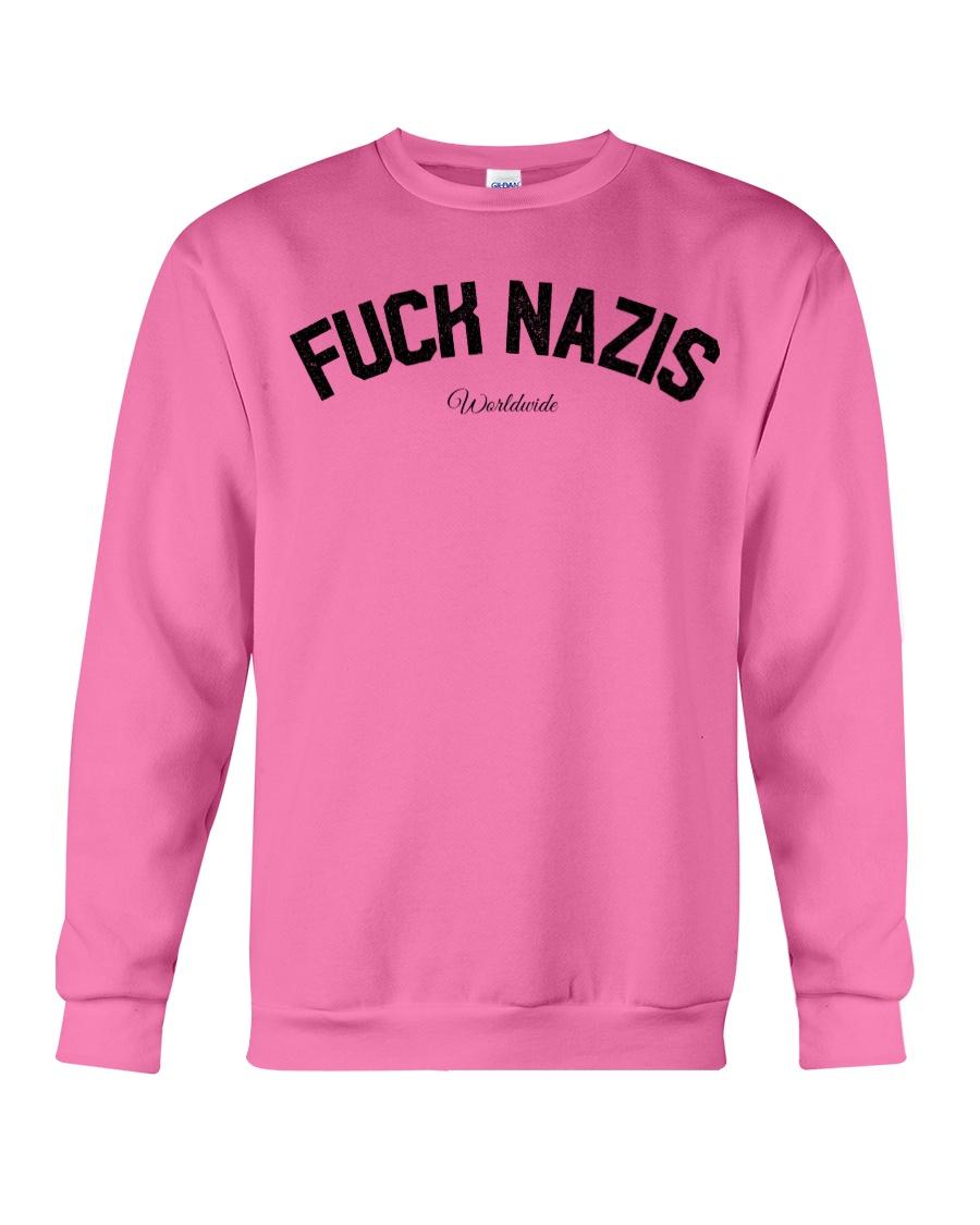 FUCK NAZIS - Worldwide Crewneck Sweatshirt