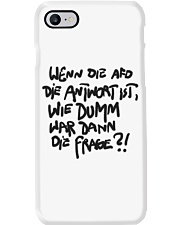 Dumme Frage Phone Case tile