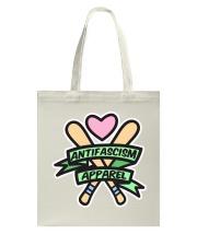 Antifascism Apparel - Bats 'n' Banners Tote Bag front