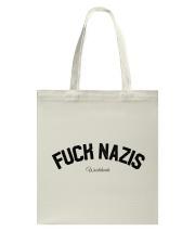 FUCK NAZIS - Worldwide Tote Bag thumbnail