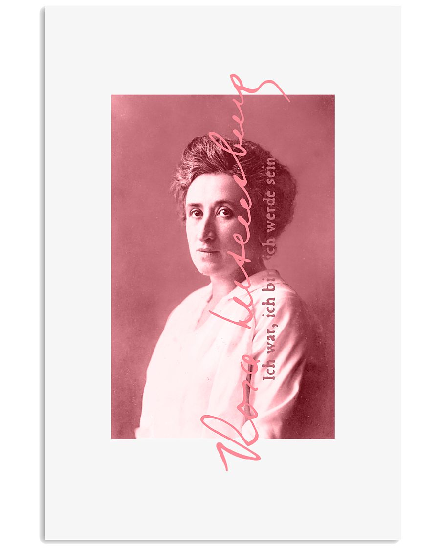 Rosa Luxemburg 24x36 Poster