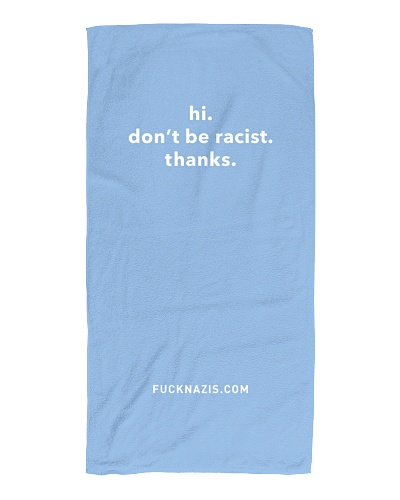Don't be racist at the beach
