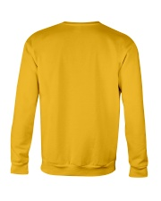 be anti-racist - Black Print Crewneck Sweatshirt back