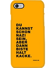 Dann biste halt Kacke Phone Case thumbnail