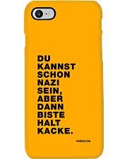 Dann biste halt Kacke Phone Case i-phone-8-case