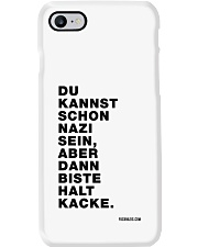 Dann biste halt Kacke Phone Case tile