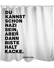 Dann biste halt Kacke Shower Curtain thumbnail