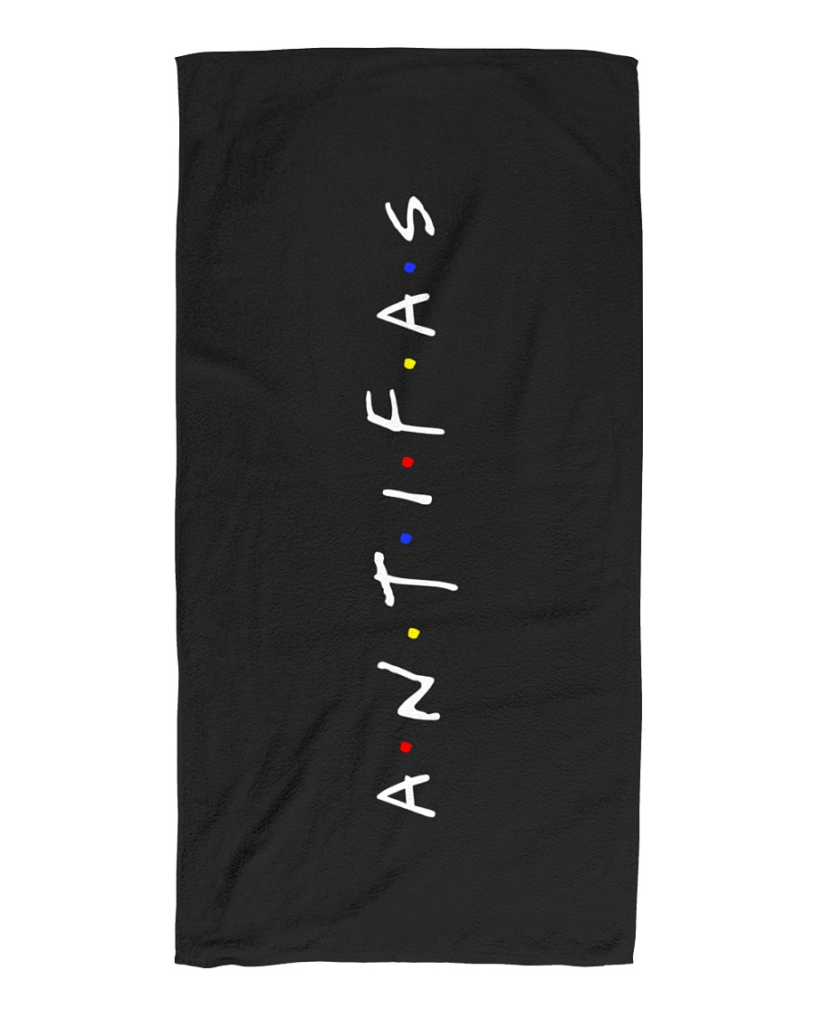 All my Friends are Antifas Beach Towel